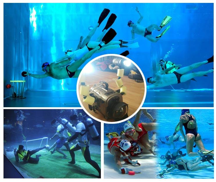 Streaming competiciones y eventos Subacuáticos en directo