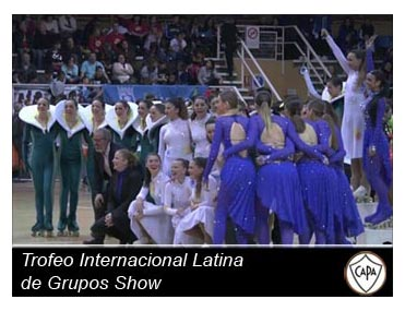Streaming diferido Trofeo Internacional Latina de Grupos Show