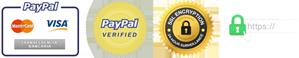 Pagos ecommerce con Visa y PayPal